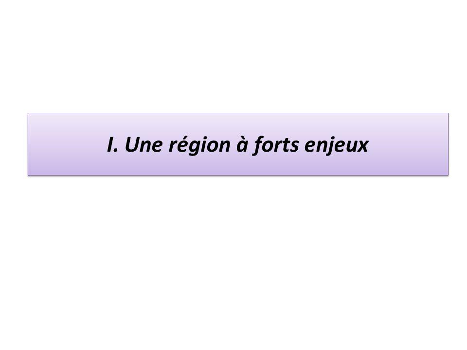I. Une région à forts enjeux