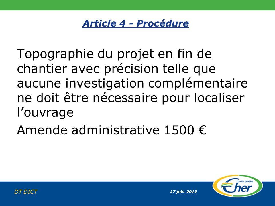 Amende administrative 1500 €