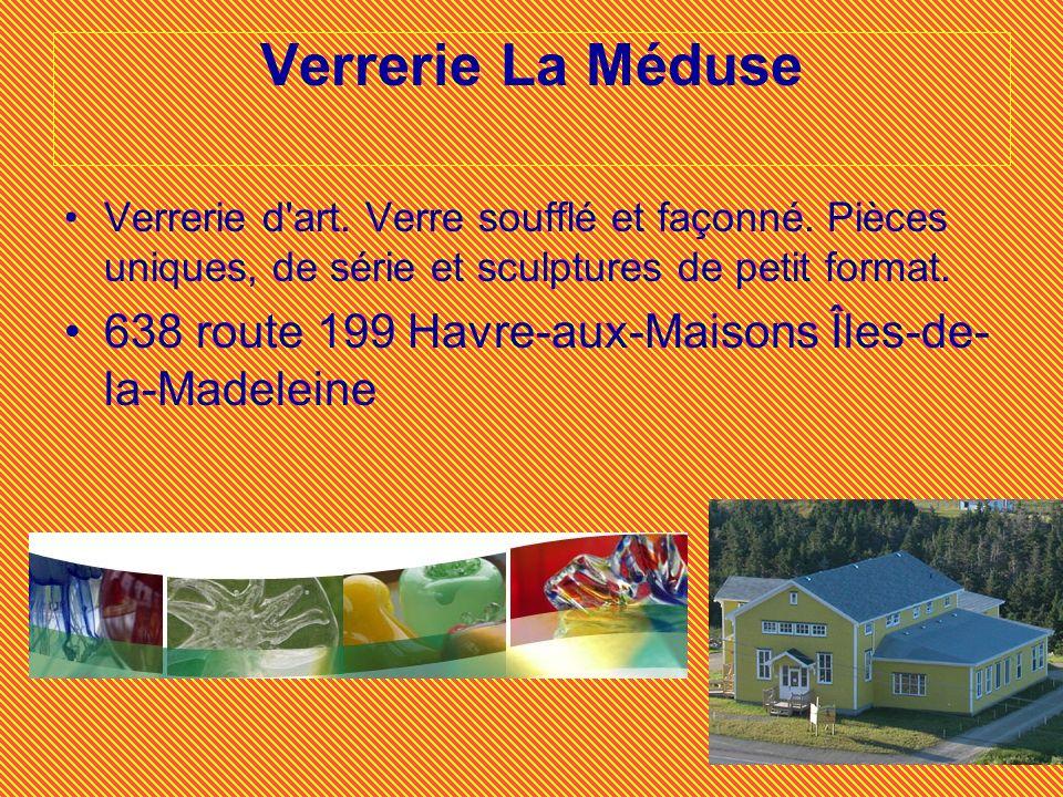 Verrerie La Méduse Verrerie d art. Verre soufflé et façonné. Pièces uniques, de série et sculptures de petit format.