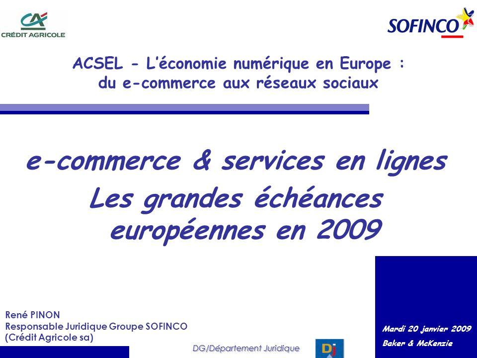 e-commerce & services en lignes
