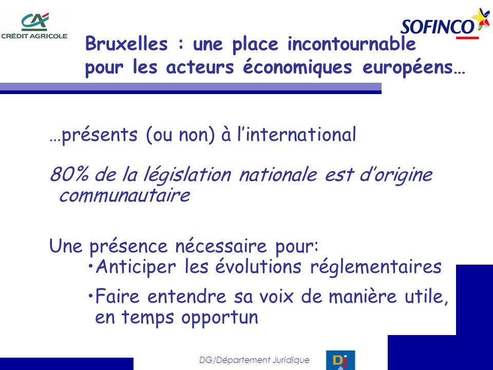 Bruxelles : une place incontournable pour les acteurs économiques européens…