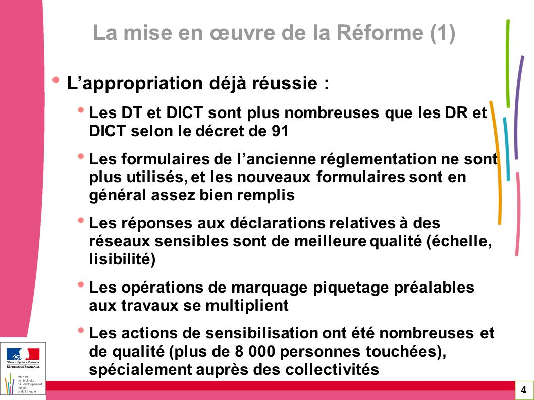 La mise en œuvre de la Réforme (1)