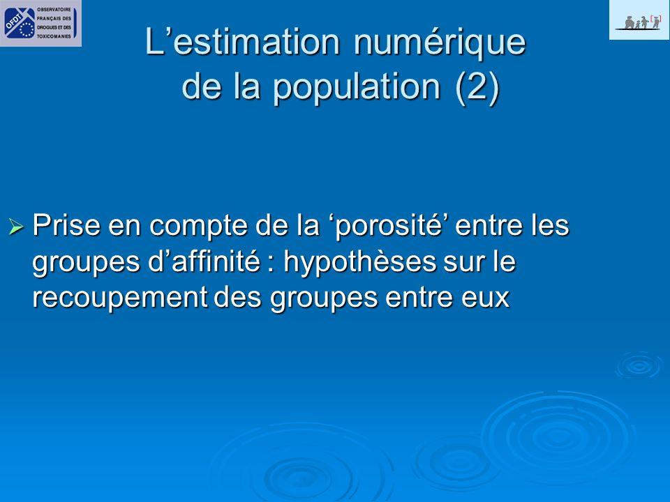 L'estimation numérique de la population (2)
