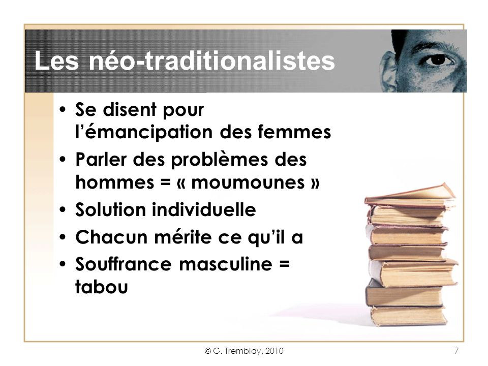 Les néo-traditionalistes