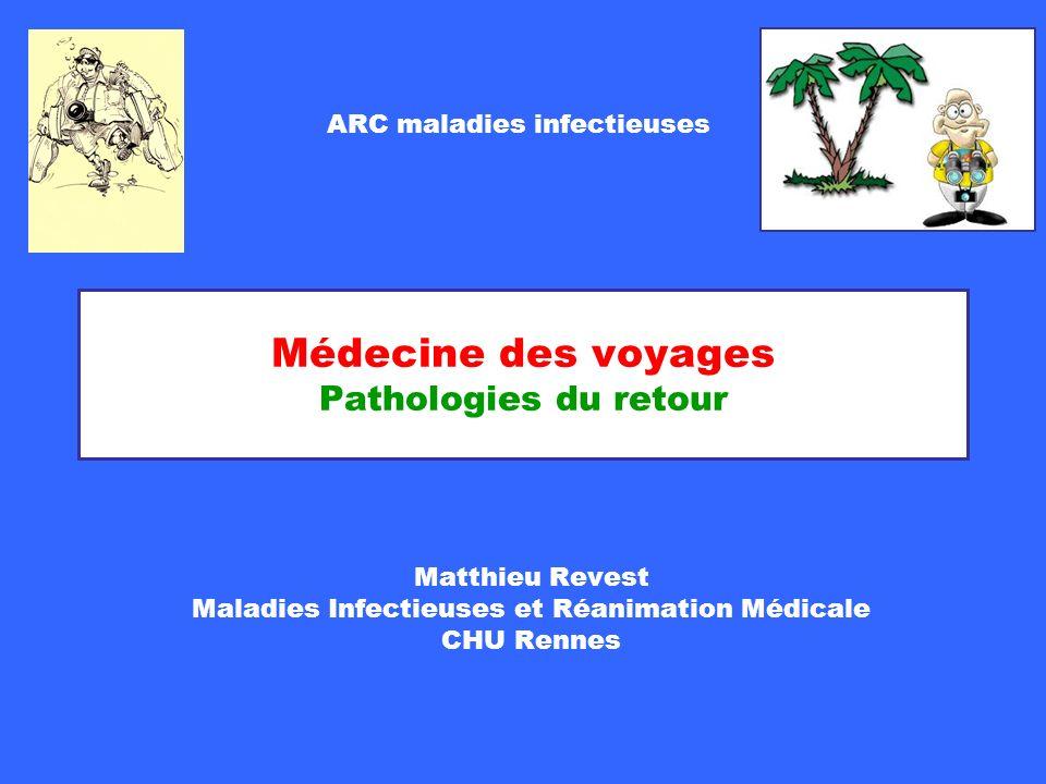 Médecine des voyages Pathologies du retour