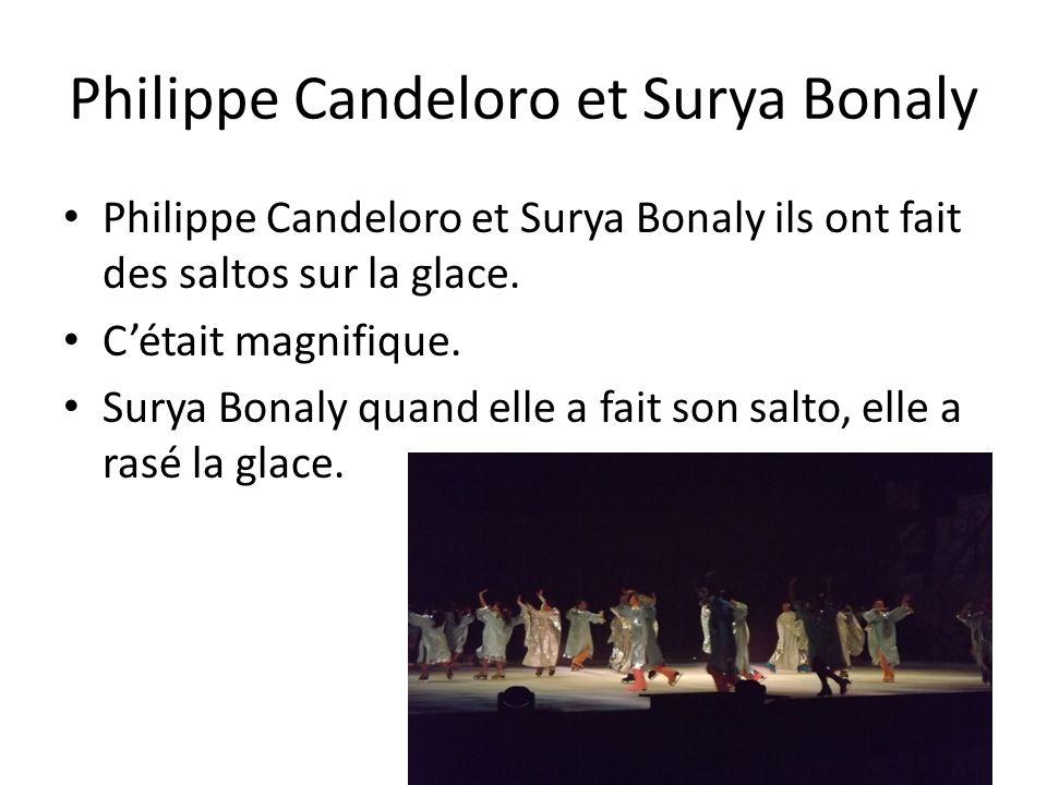 Philippe Candeloro et Surya Bonaly