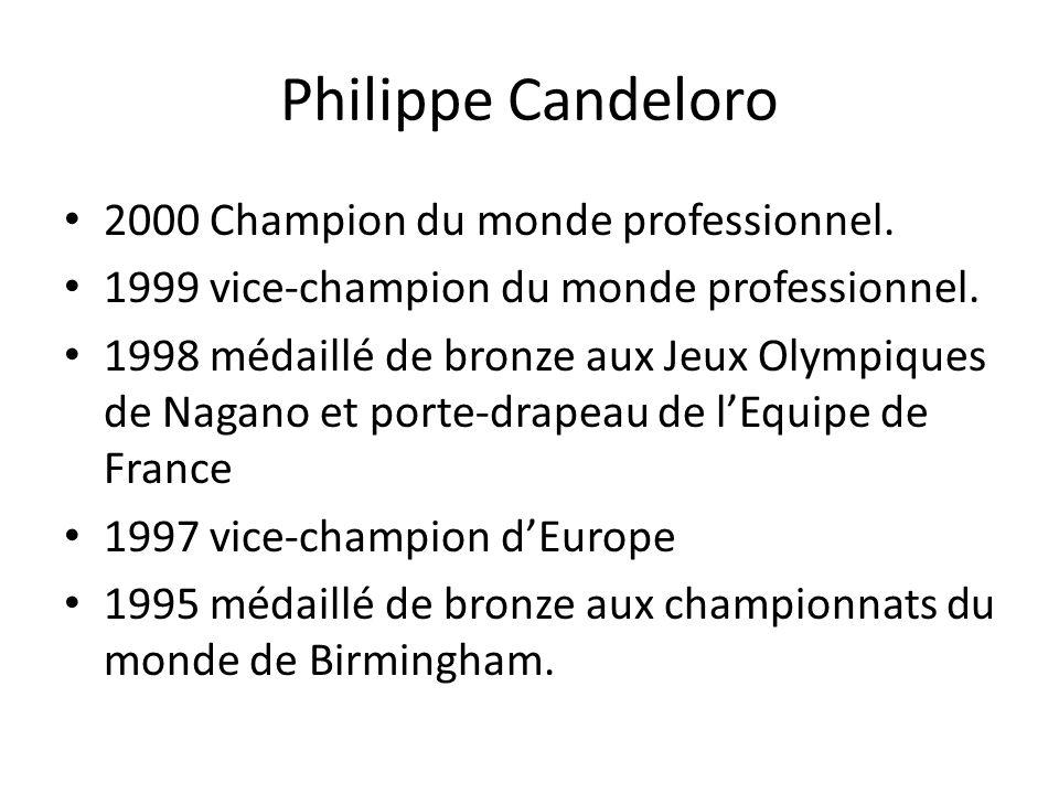Philippe Candeloro 2000 Champion du monde professionnel.