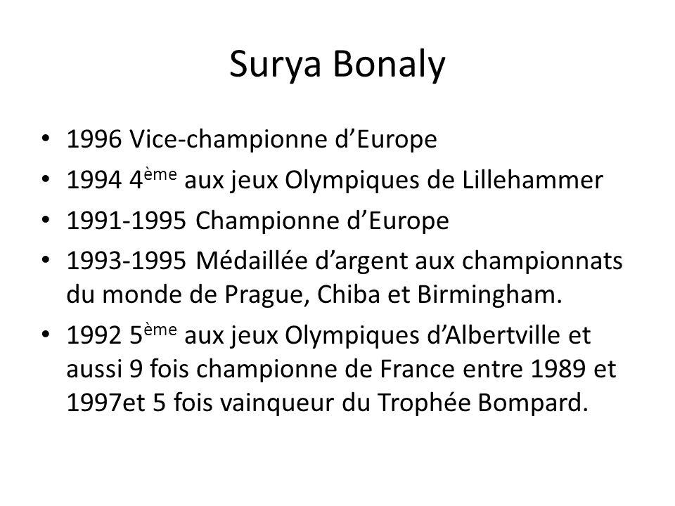 Surya Bonaly 1996 Vice-championne d'Europe