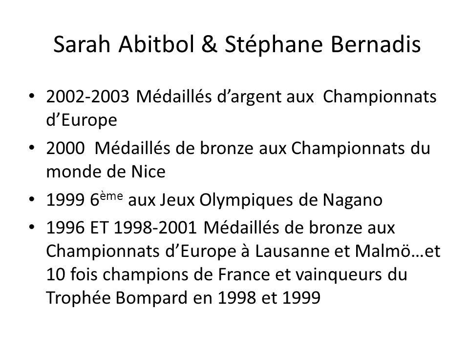 Sarah Abitbol & Stéphane Bernadis