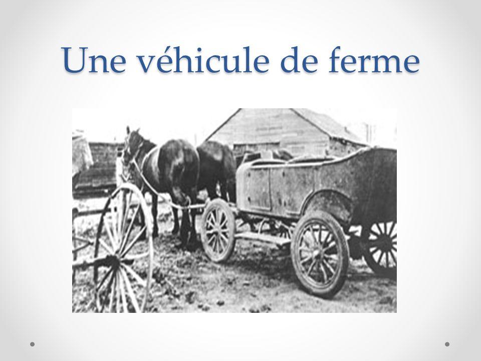 Une véhicule de ferme