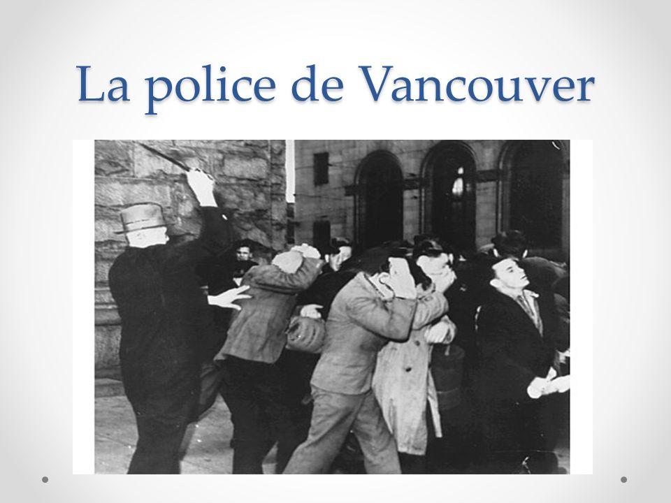 La police de Vancouver