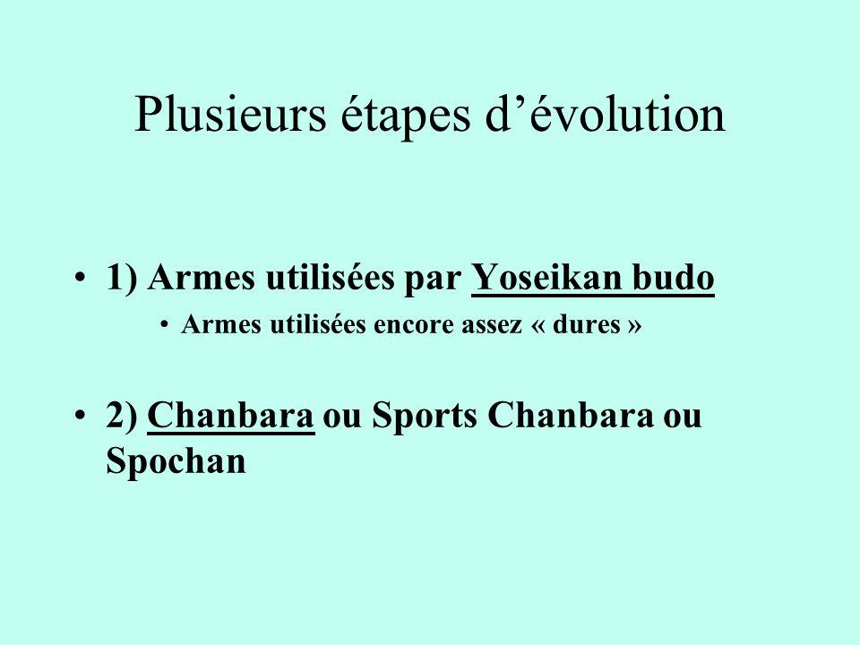 Plusieurs étapes d'évolution
