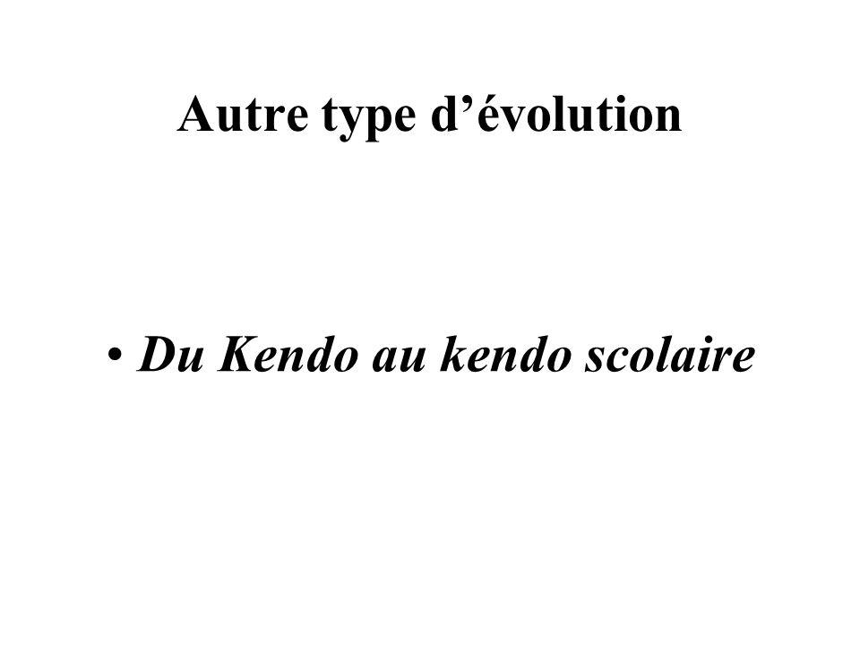 Autre type d'évolution
