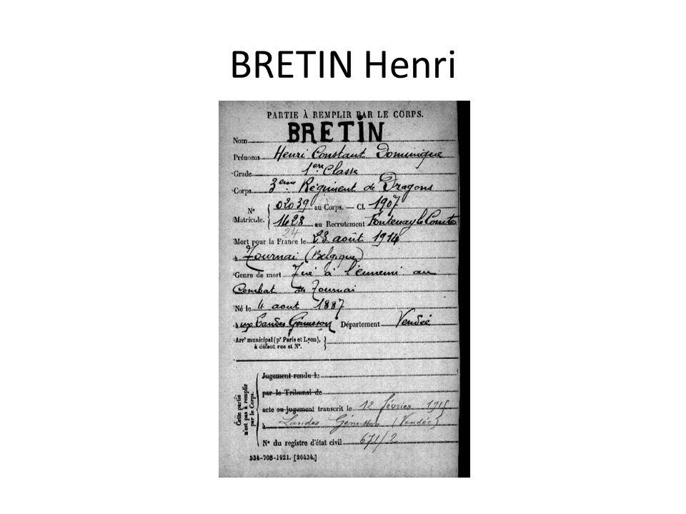 BRETIN Henri