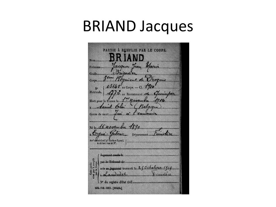 BRIAND Jacques