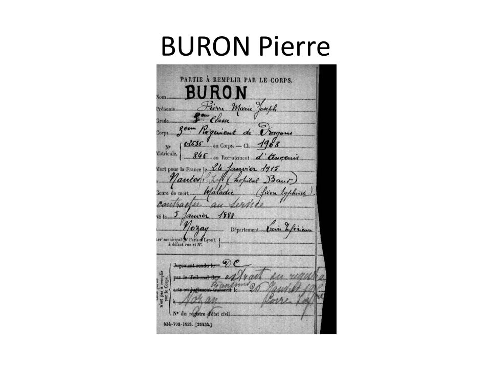 BURON Pierre