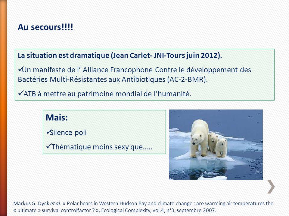Au secours!!!! La situation est dramatique (Jean Carlet- JNI-Tours juin 2012).