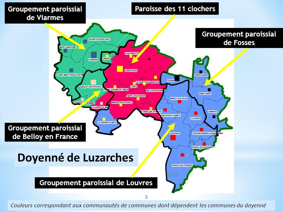 Doyenné de Luzarches Groupement paroissial de Viarmes