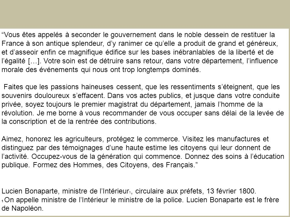 publique. Formez des Hommes, des Citoyens, des Français.