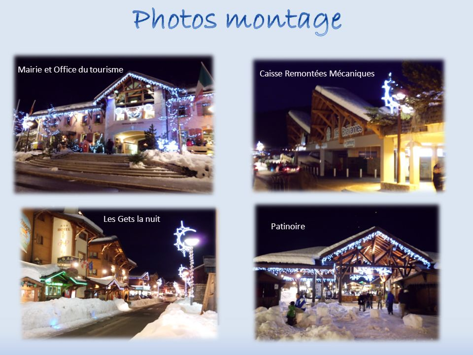 Photos montage Mairie et Office du tourisme