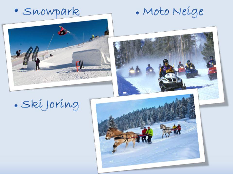 Snowpark ● Moto Neige ● Ski Joring