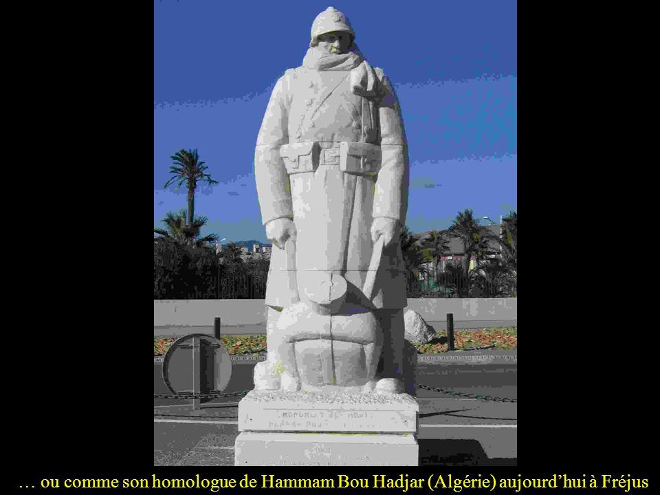… ou comme son homologue de Hammam Bou Hadjar (Algérie) aujourd'hui à Fréjus