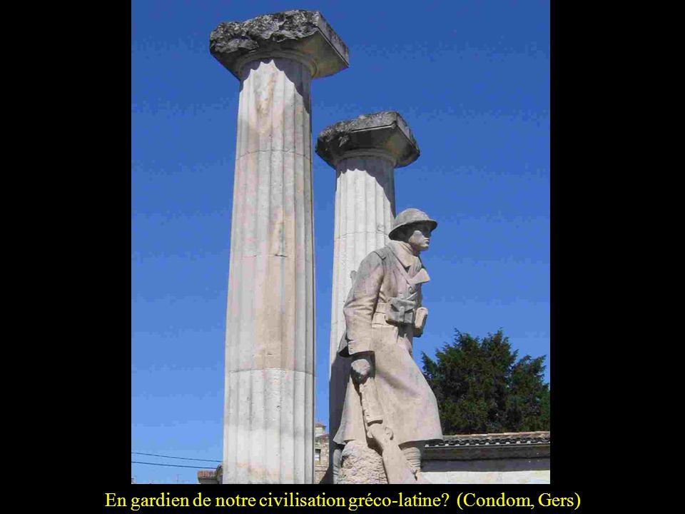 En gardien de notre civilisation gréco-latine (Condom, Gers)