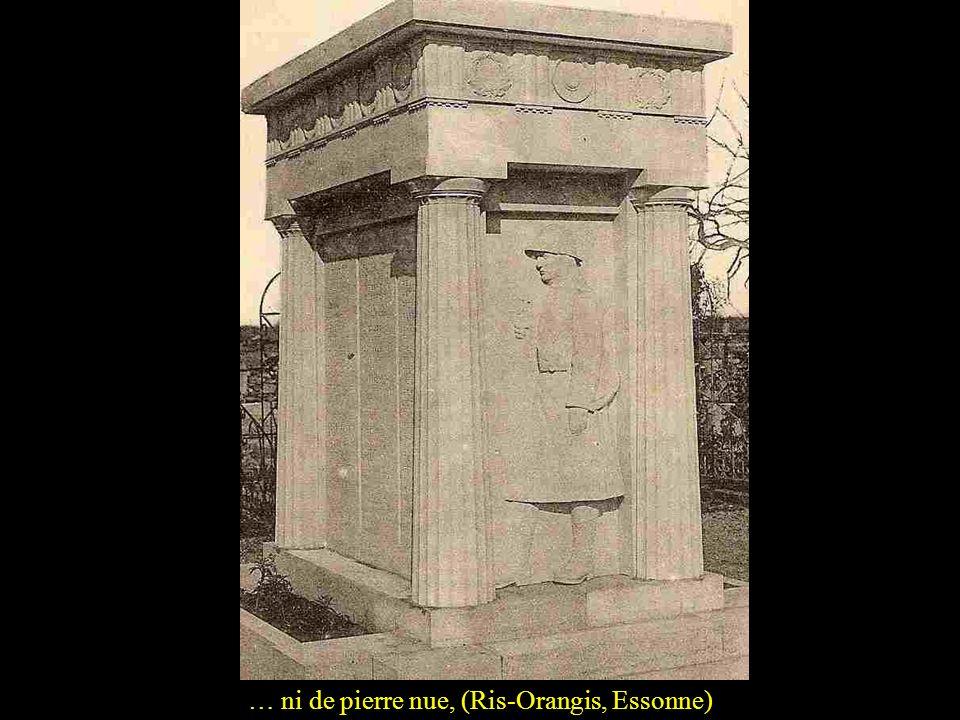 … ni de pierre nue, (Ris-Orangis, Essonne)