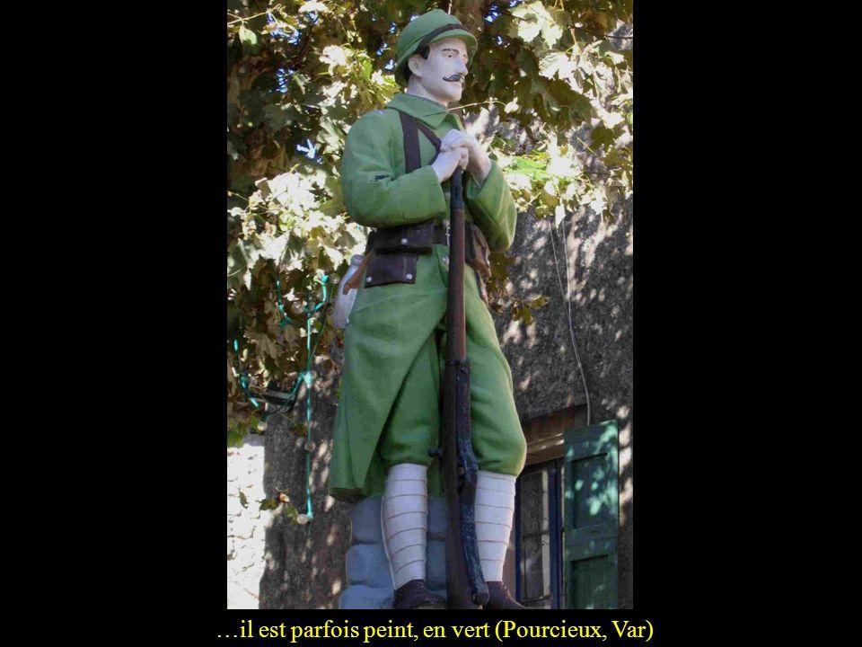 …il est parfois peint, en vert (Pourcieux, Var)