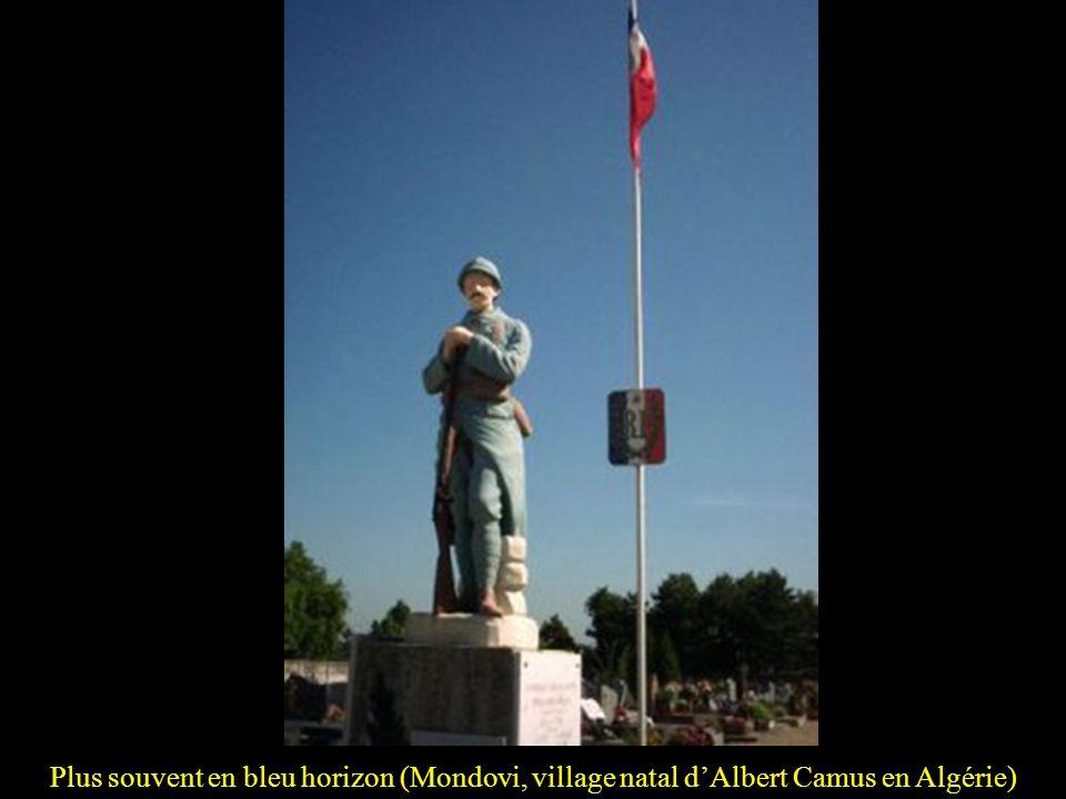 Plus souvent en bleu horizon (Mondovi, village natal d'Albert Camus en Algérie)