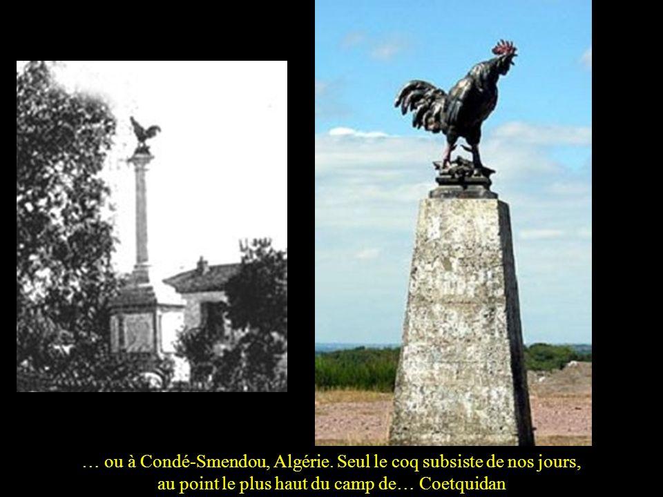 … ou à Condé-Smendou, Algérie