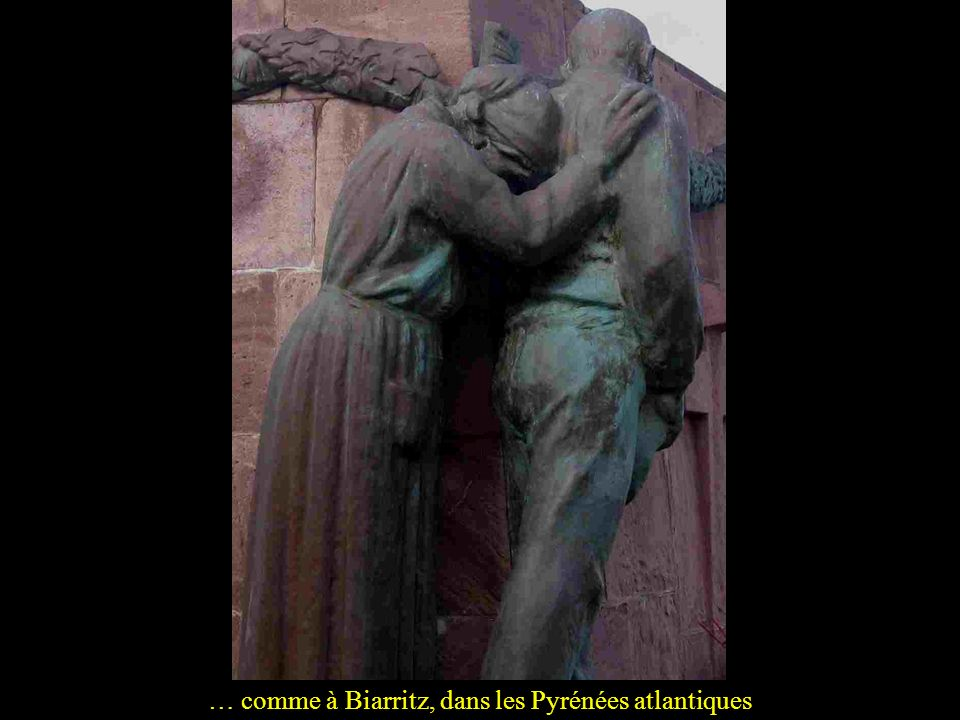… comme à Biarritz, dans les Pyrénées atlantiques