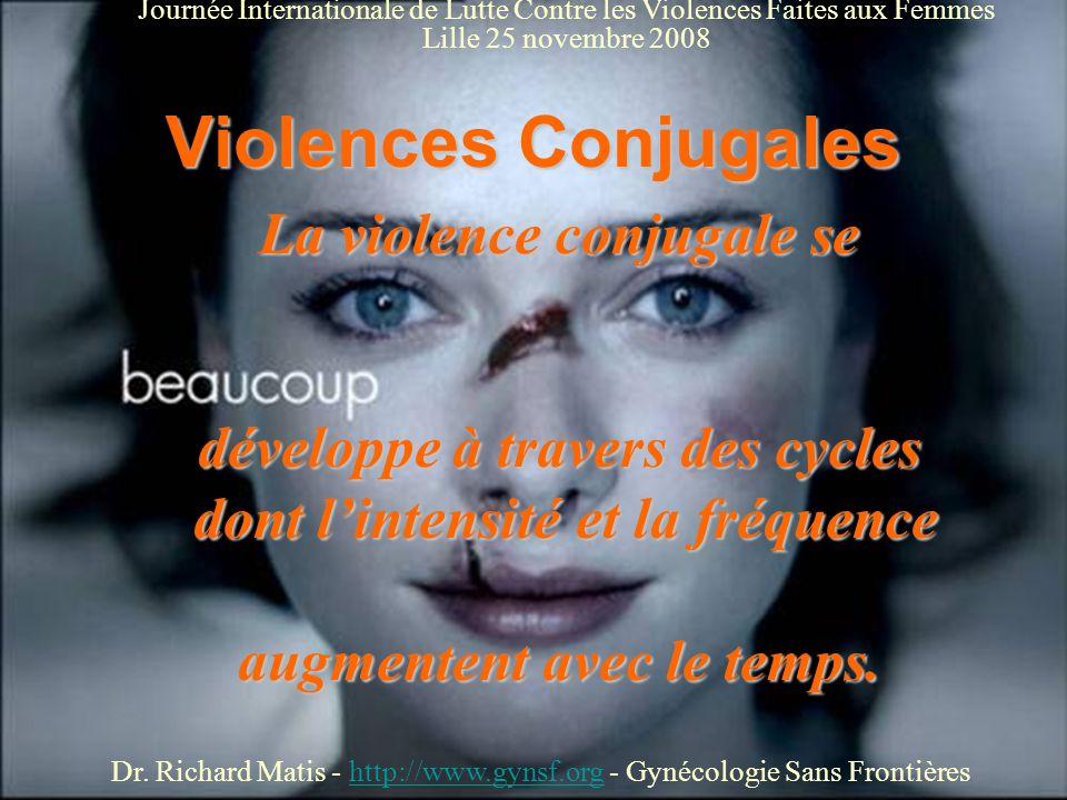 Violences Conjugales La violence conjugale se
