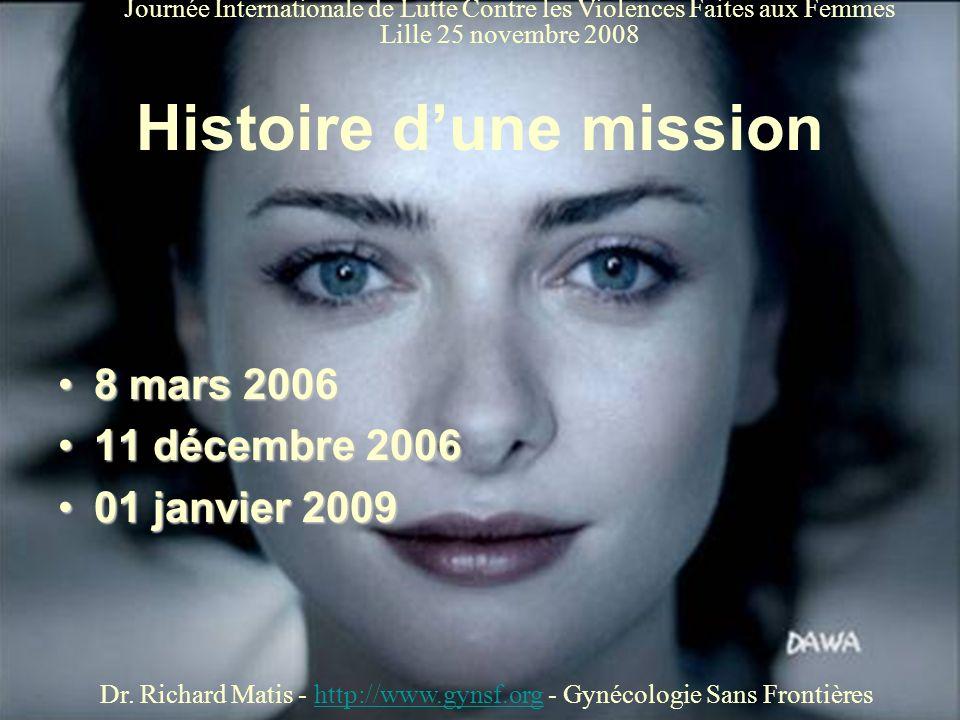 Histoire d'une mission