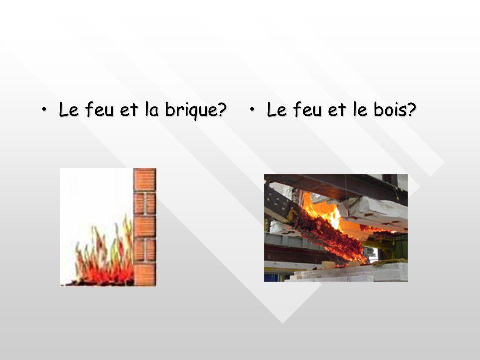 Le feu et la brique Le feu et le bois