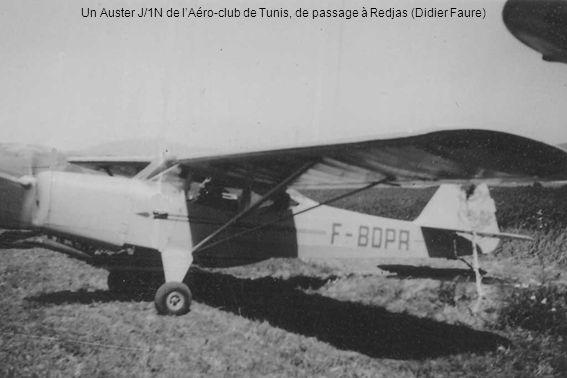 Un Auster J/1N de l'Aéro-club de Tunis, de passage à Redjas (Didier Faure)