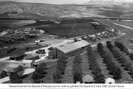 Rassemblement de Banane à Redjas pour la visite du général De Gaulle le 3 mars 1960 (Didier Faure)