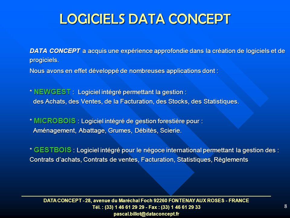 LOGICIELS DATA CONCEPT