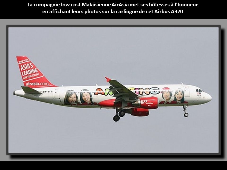 La compagnie low cost Malaisienne AirAsia met ses hôtesses à l honneur