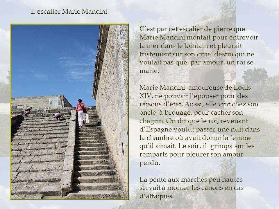 L'escalier Marie Mancini.