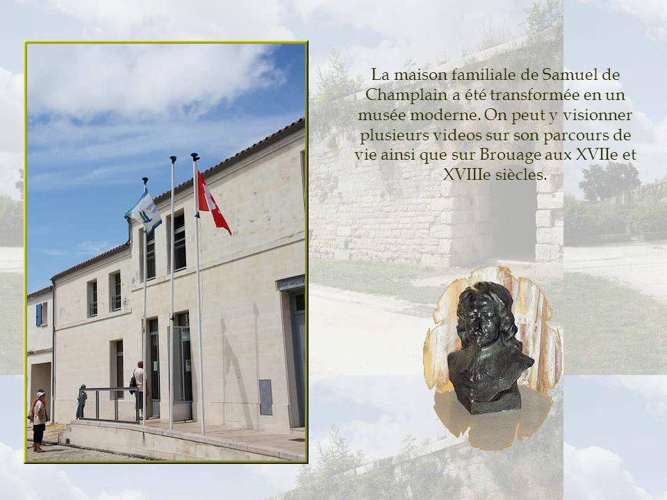 La maison familiale de Samuel de Champlain a été transformée en un musée moderne.