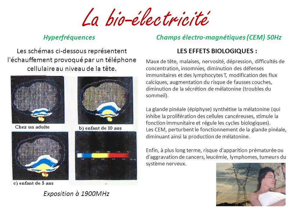 La bio-électricité Hyperfréquences