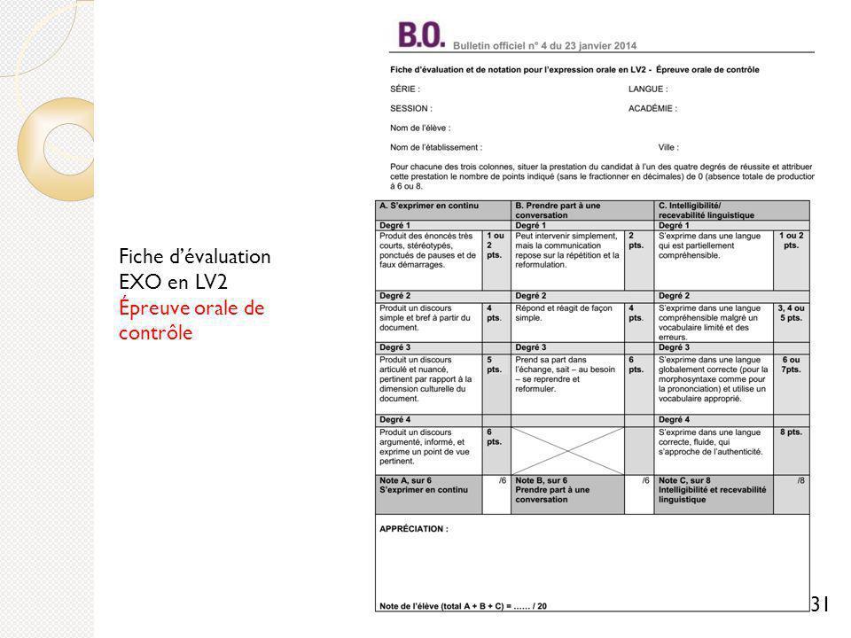 Preuves de langues vivantes aux baccalaur ats g n ral et - Grille evaluation expression ecrite anglais ...