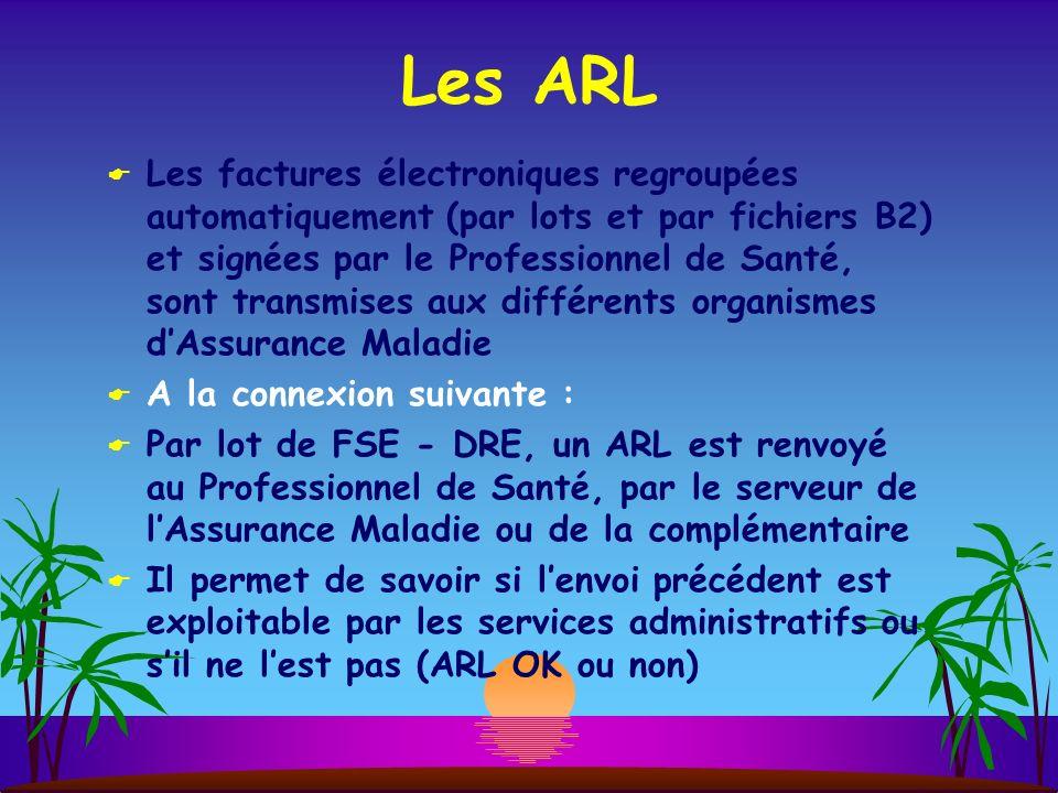 Les ARL
