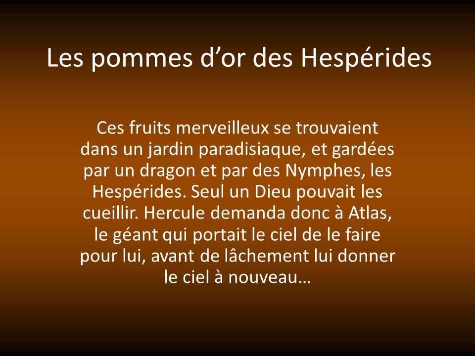 Les pommes d'or des Hespérides
