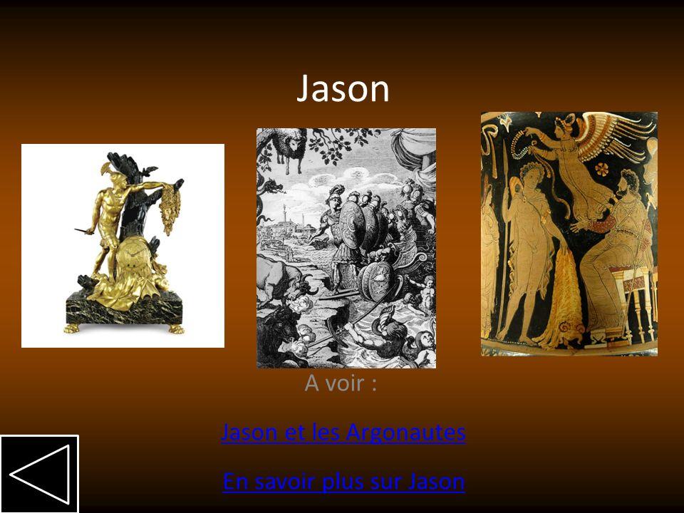 A voir : Jason et les Argonautes En savoir plus sur Jason
