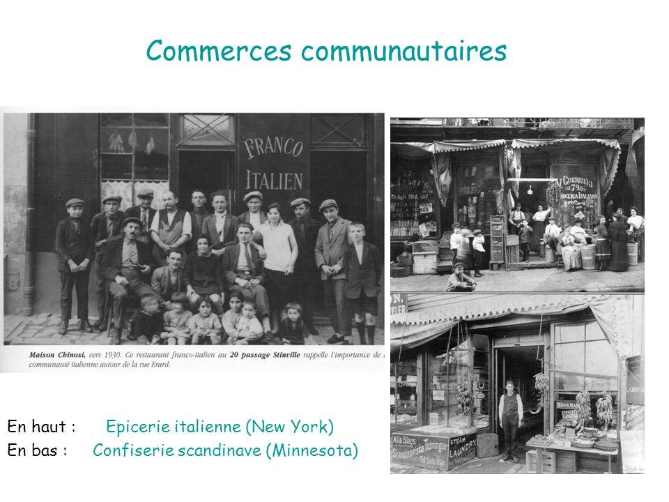 Commerces communautaires