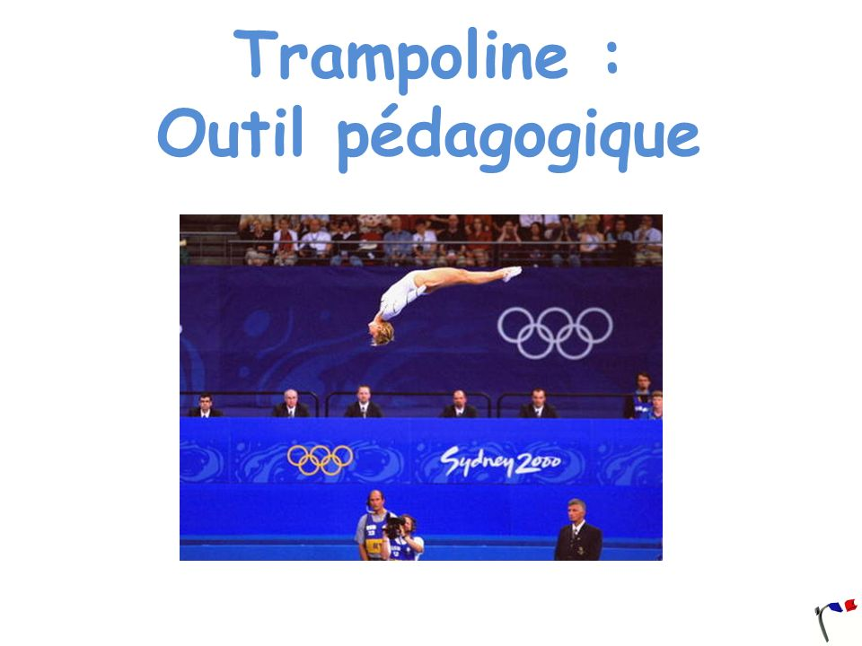 Trampoline : Outil pédagogique