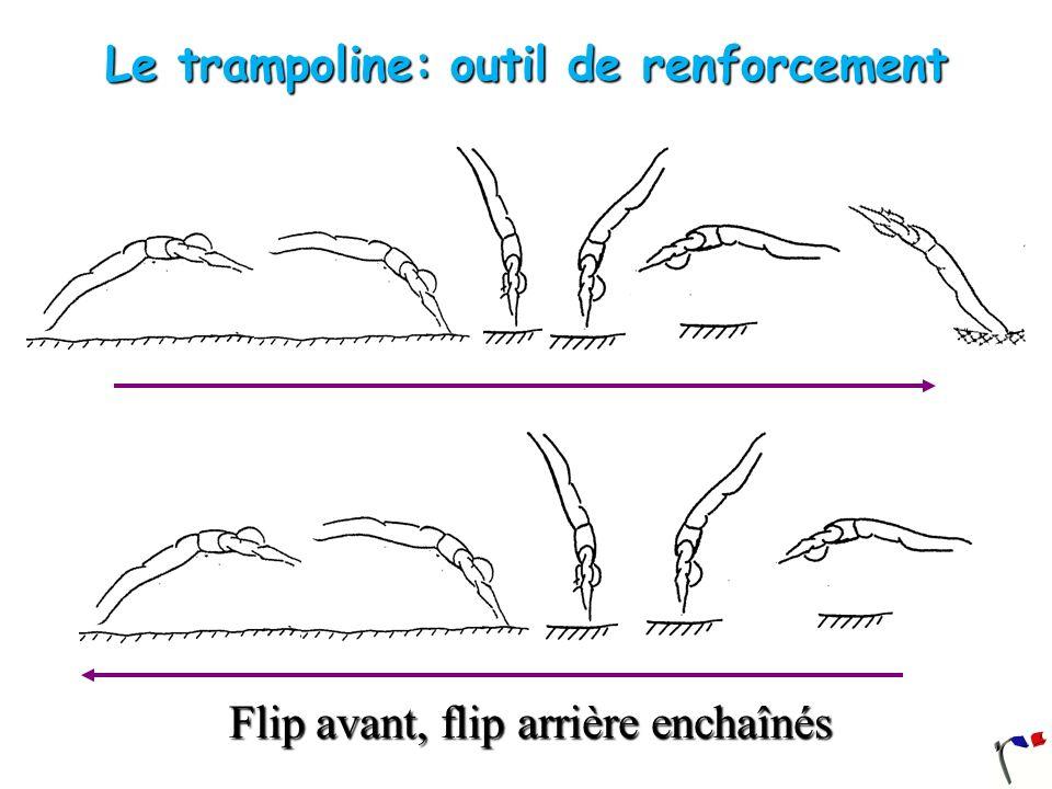 Le trampoline: outil de renforcement