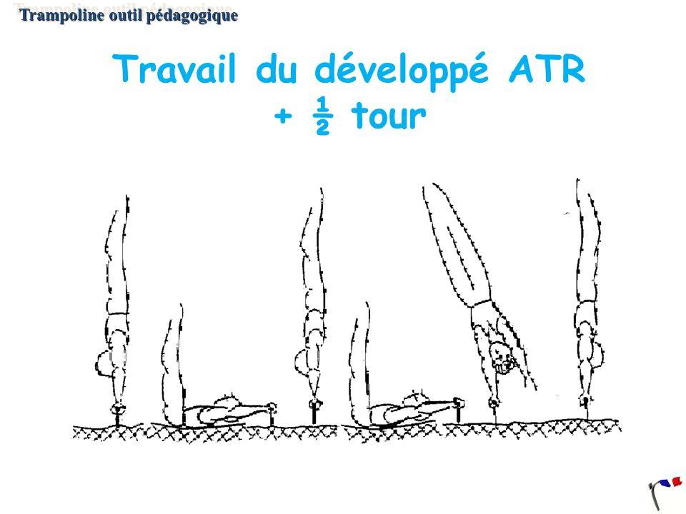 Travail du développé ATR + ½ tour